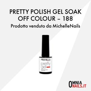 Pretty polish gel soak off colour – 188