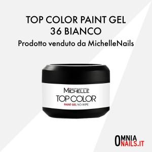 Top color paint gel – 36 bianco