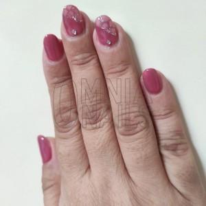 Unghie eleganti pink
