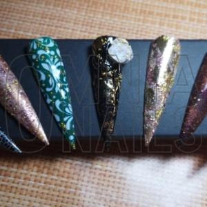 Nail arts varie