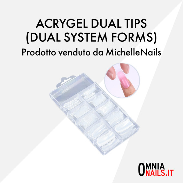 Acrygel dual tips (dual system forms)