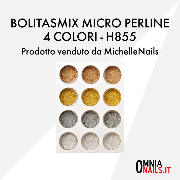 Bolitas mix micro perline 4 colori – H855