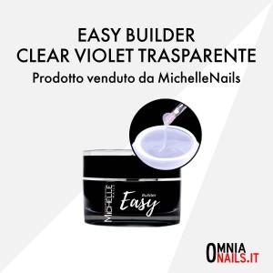 Easy builder – clear violet trasparente