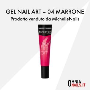 Gel nail art – 03 marrone