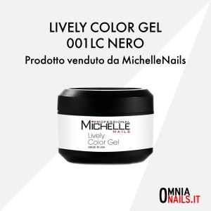 Lively color gel – 001LC nero
