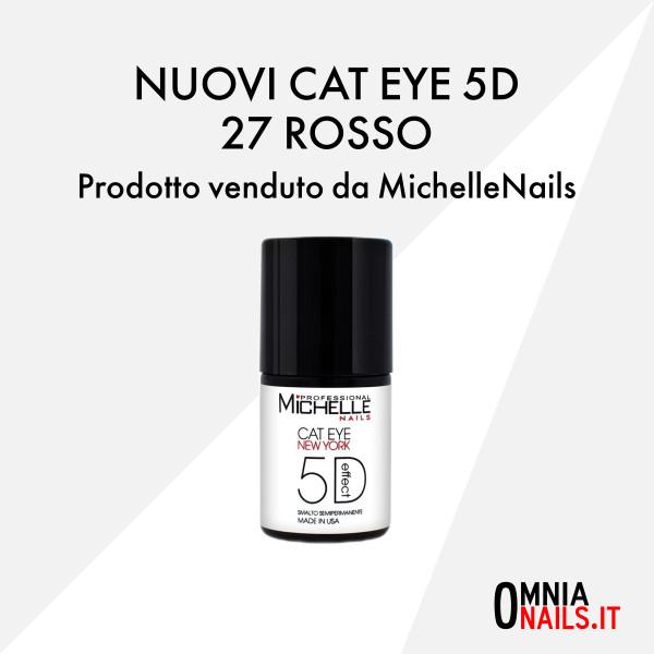 Cat eye 5D – 27 rosso
