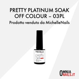 Pretty platinum soak off colour – 03PL