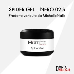 Spider gel – nero 02-S