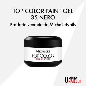 Top color paint gel – 35 nero